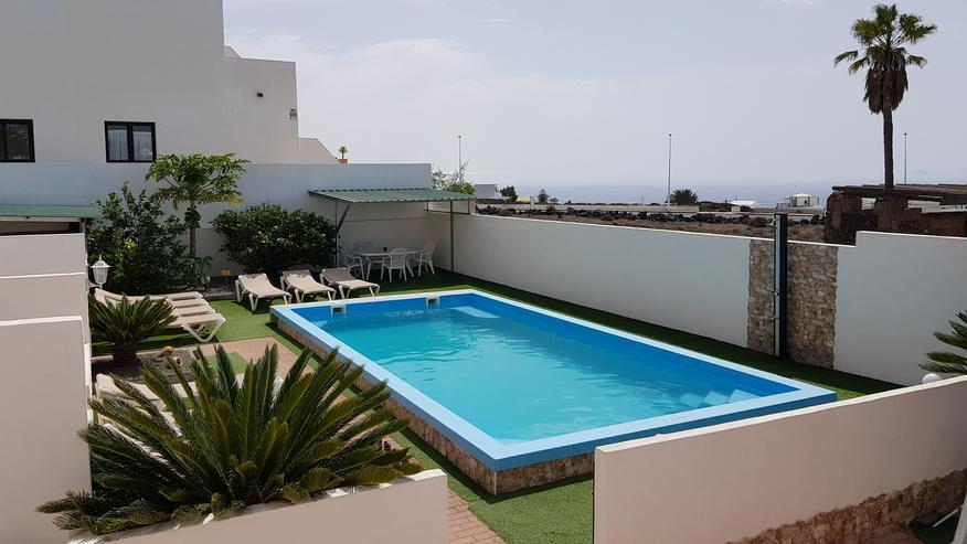 Urlaub Überwintern Langzeit Kanarischen Insel Lanzarote in Spanien Pool Ferienwohnung - Ferienhaus Spanien - Bild 1