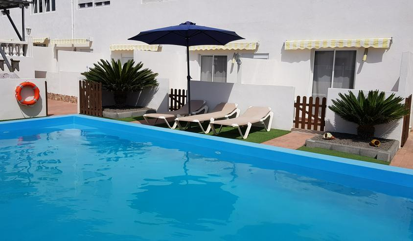 Bild 3: Urlaub Überwintern Langzeit Kanarischen Insel Lanzarote in Spanien Pool Ferienwohnung