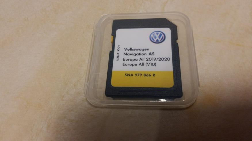 SD-Karte VW-Navigation AS Europa AII 2019/2020,(  V10 ) für Discover Media Navigationssystem