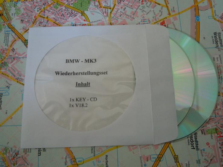 BMW MK3 Wiederherstellungs Software V17 - V18.2 + Key CD