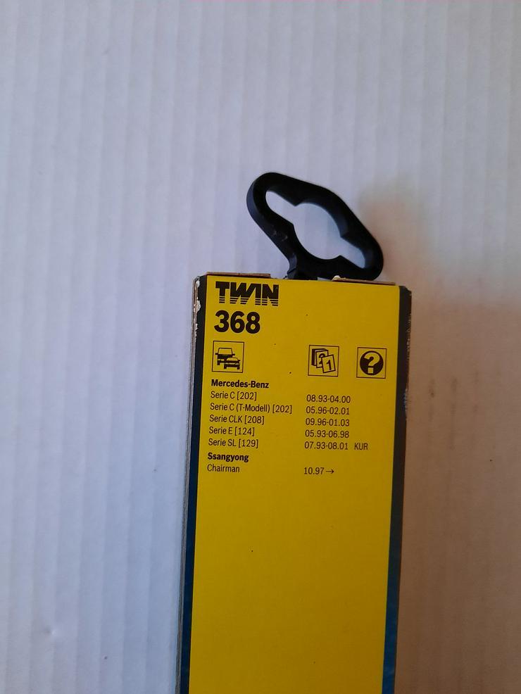 Bild 3: Wischerblätter Bosch Twin 368 NEU