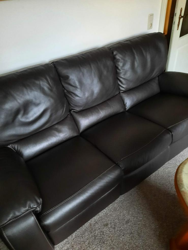 Lederganitur 3, 2, 1 - Sofas & Sitzmöbel - Bild 1