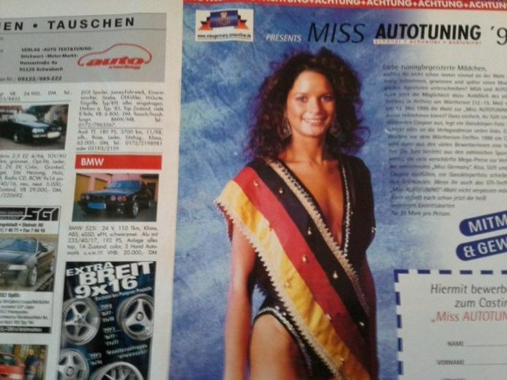 Bild 2: Reiffnitz GTI Treffen Wörthersee 1999 Miss AUTO TUNING