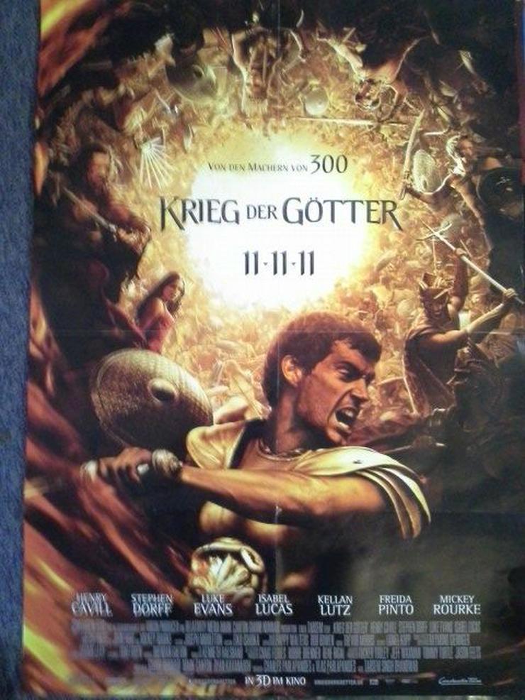 Immortals - Krieg der Götter 2011 Orginal A1 Plakat