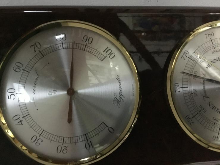 Bild 4: Wetterstation von BARIGO mit Barometer, Thermometer Hygrometer