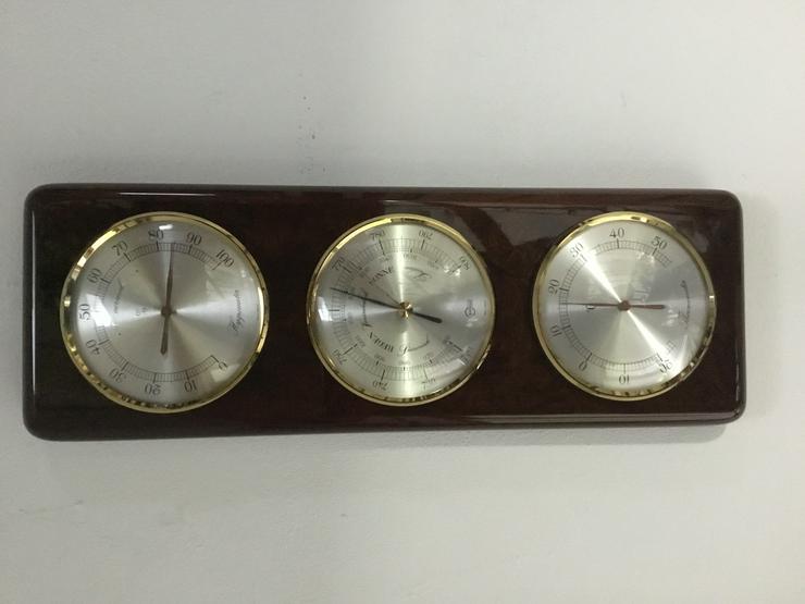 Wetterstation von BARIGO mit Barometer, Thermometer Hygrometer
