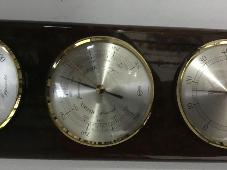 Bild 2: Wetterstation von BARIGO mit Barometer, Thermometer Hygrometer