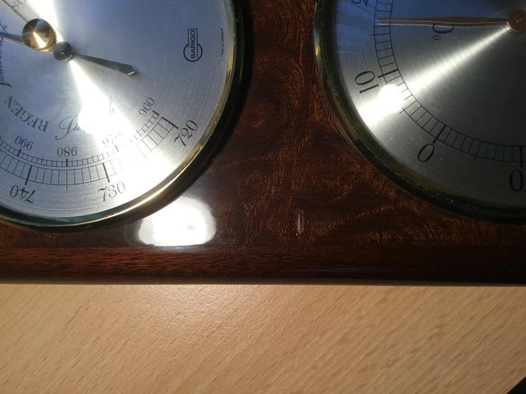 Bild 5: Wetterstation von BARIGO mit Barometer, Thermometer Hygrometer