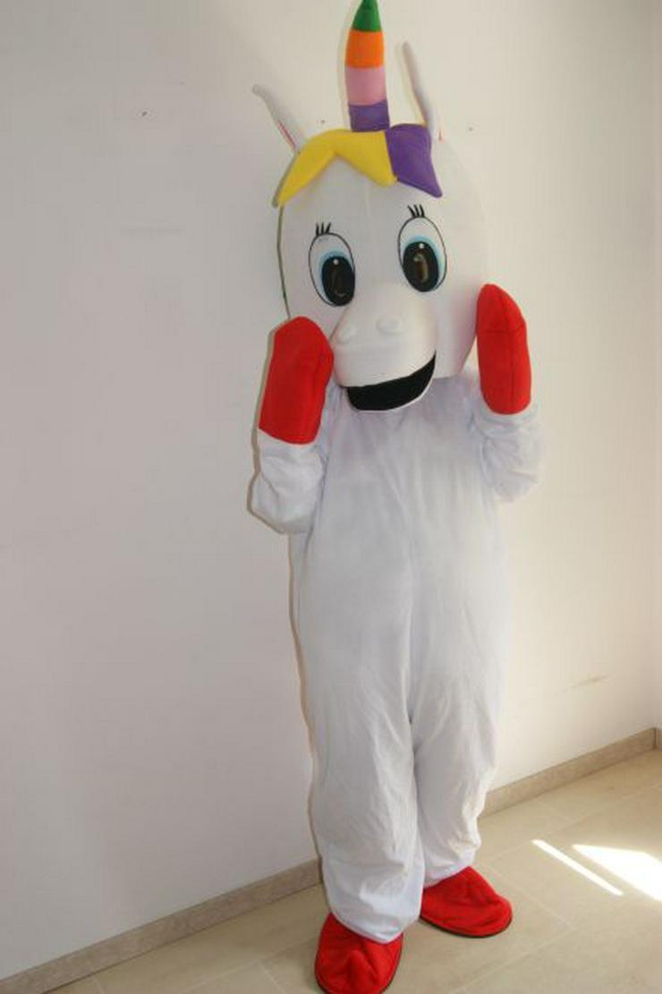 Lauffigur Maskottchen EINHORN zu vermieten - Kostüme & Requisiten - Bild 1