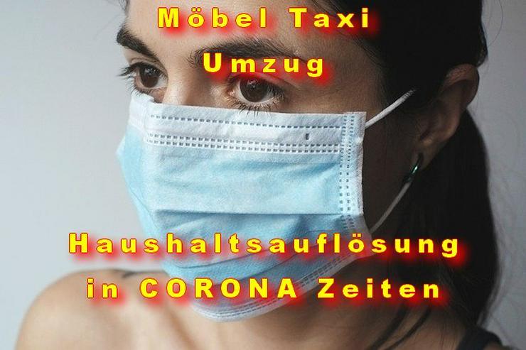 UMTL Möbel Taxi Umzugsunternehmen Transport Wuppertal Haushaltsauflösung Sperrmüll CORONA Update