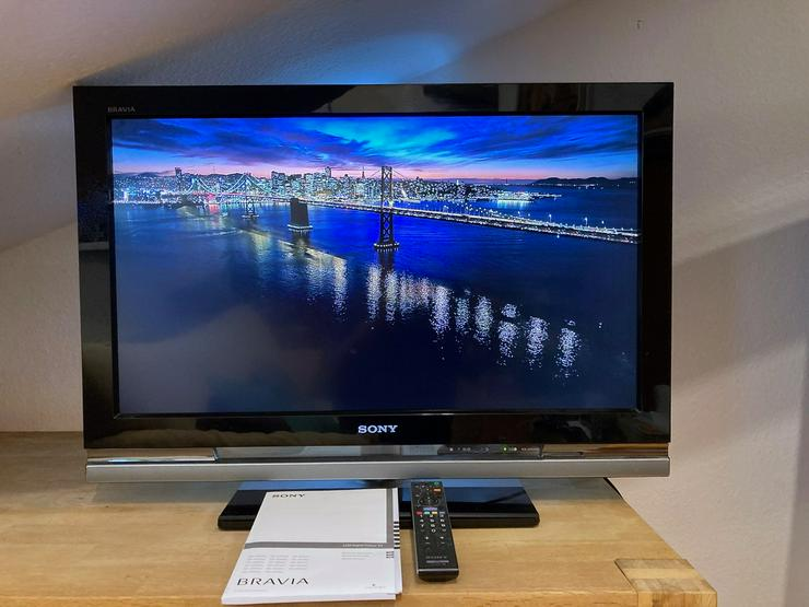 "Sehr schöner Sony 32"" (81,3 cm) Bravia LCD-Fernseher KDL-32W4000"