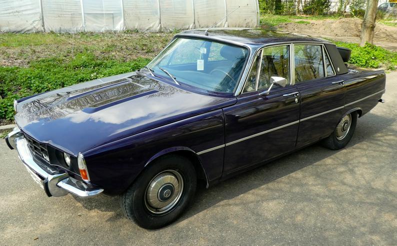 Rover P6B 3,5l V8 160PS Autom. LHD Sehr Rar: Rostfrei Vollrestauration! Geschenk