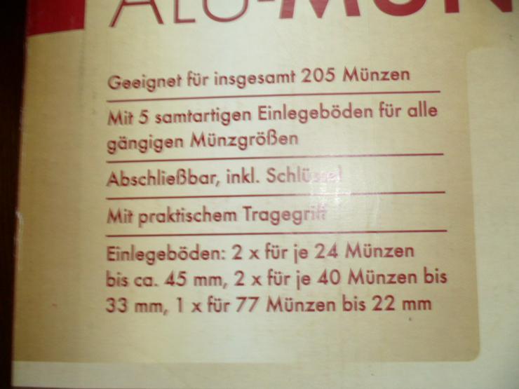 Achtung! Münzkoffer
