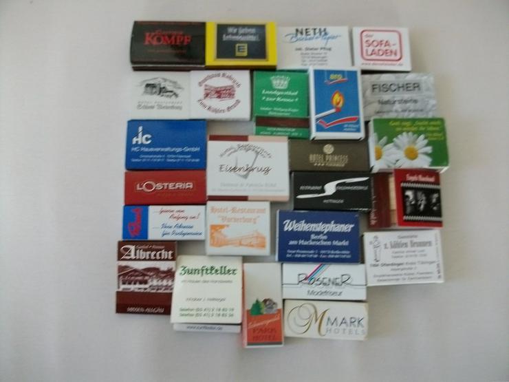 Streichholz Schachteln - 20 Stück verschiedene -
