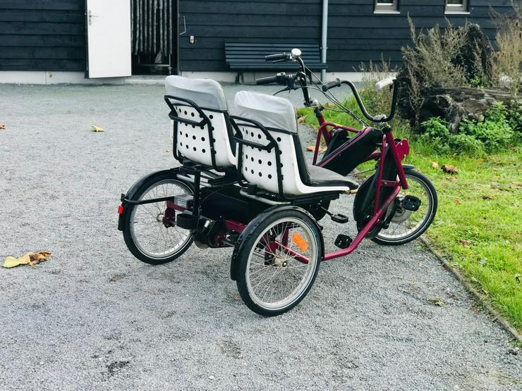 Elektrisches Duo-Fahrrad PF Mobility Side By Side