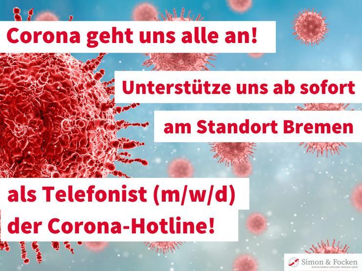 Telefonischer Kundenservice (m/w/d) Corona-Hotline