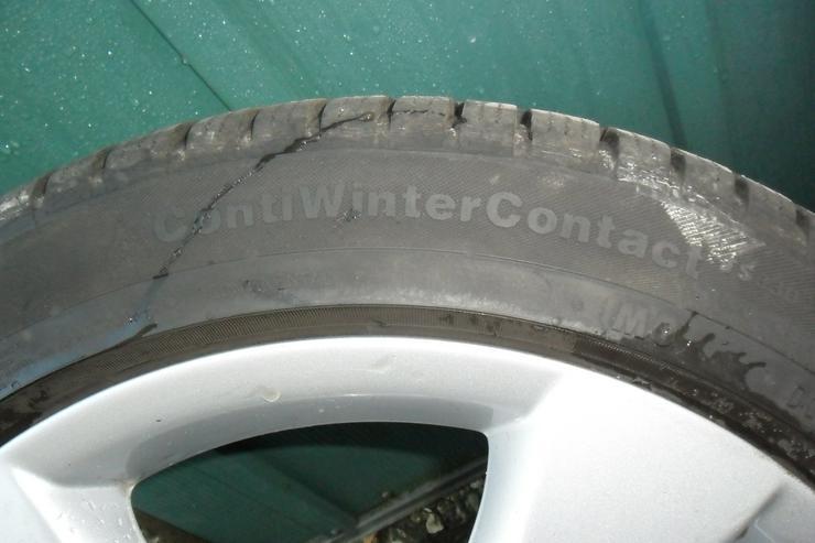 Bild 5: Conti Wintercontact Reifen auf Alufelgen!