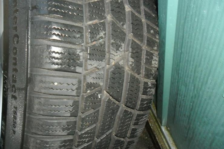 Bild 3: Conti Wintercontact Reifen auf Alufelgen!
