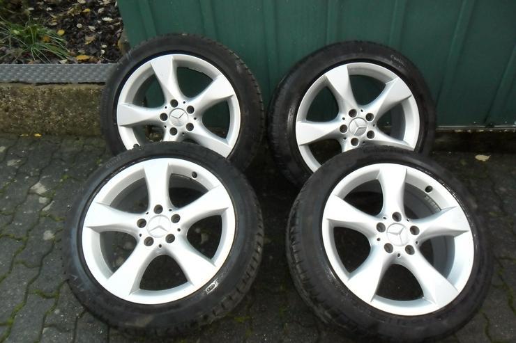 Conti Wintercontact Reifen auf Alufelgen! - Winter Kompletträder - Bild 1