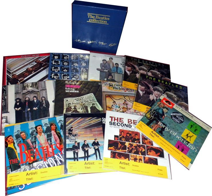 Sammlung 68 LPs Beatles mit vielen Raritäten - nur Komplettverkauf