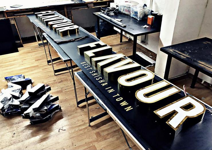 3D Leuchtbuchstaben / Leuchtreklame / LED Buchstaben