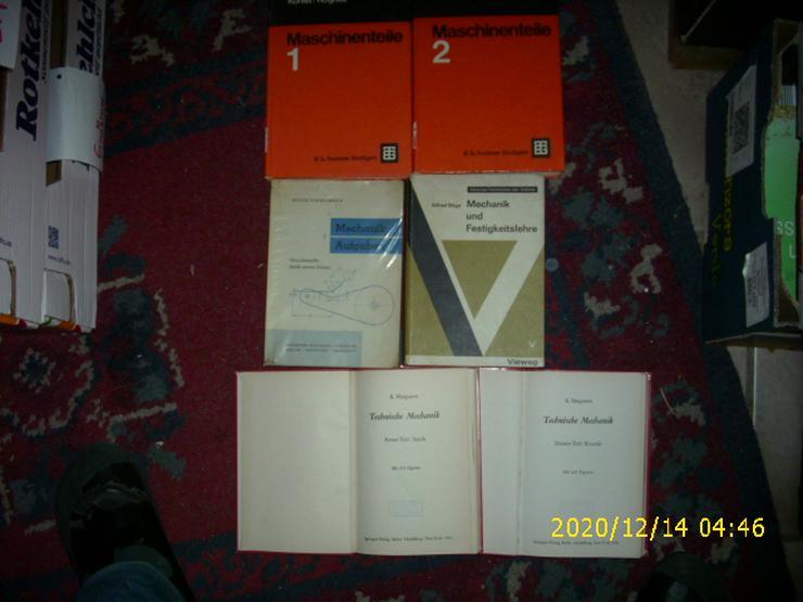 6 TECHNIK-Bücher, einige sehr selten