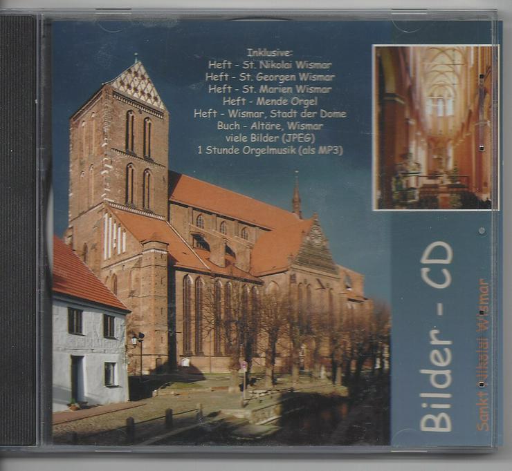 CD mit Bildern aus Wismar und erläuternden Texten
