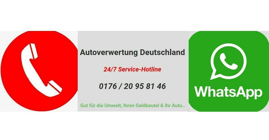 Kostenlose Autoverwertung in NRW