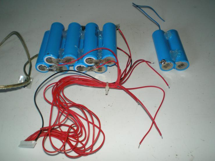 Li-Ionenakkus für Modellbau + Elektrofahrrad