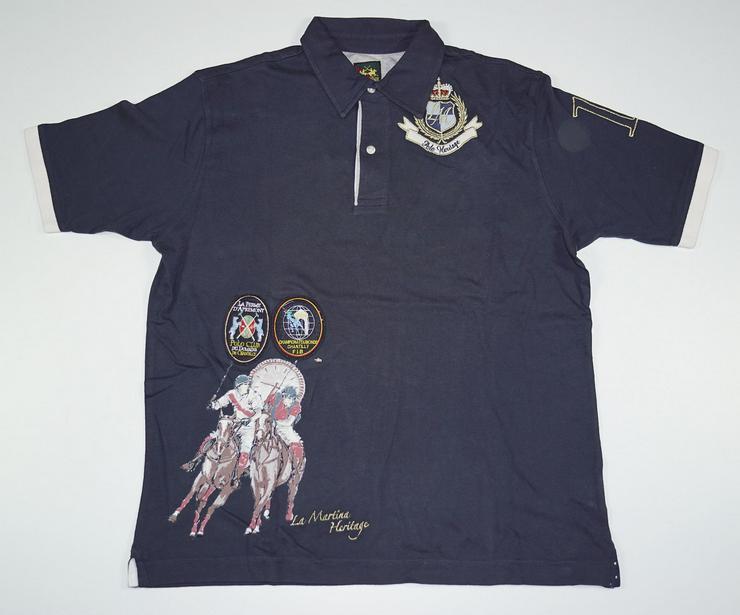 La Martina Herren Poloshirt Gr.XL Shirts nur für Abholer! 24-1375