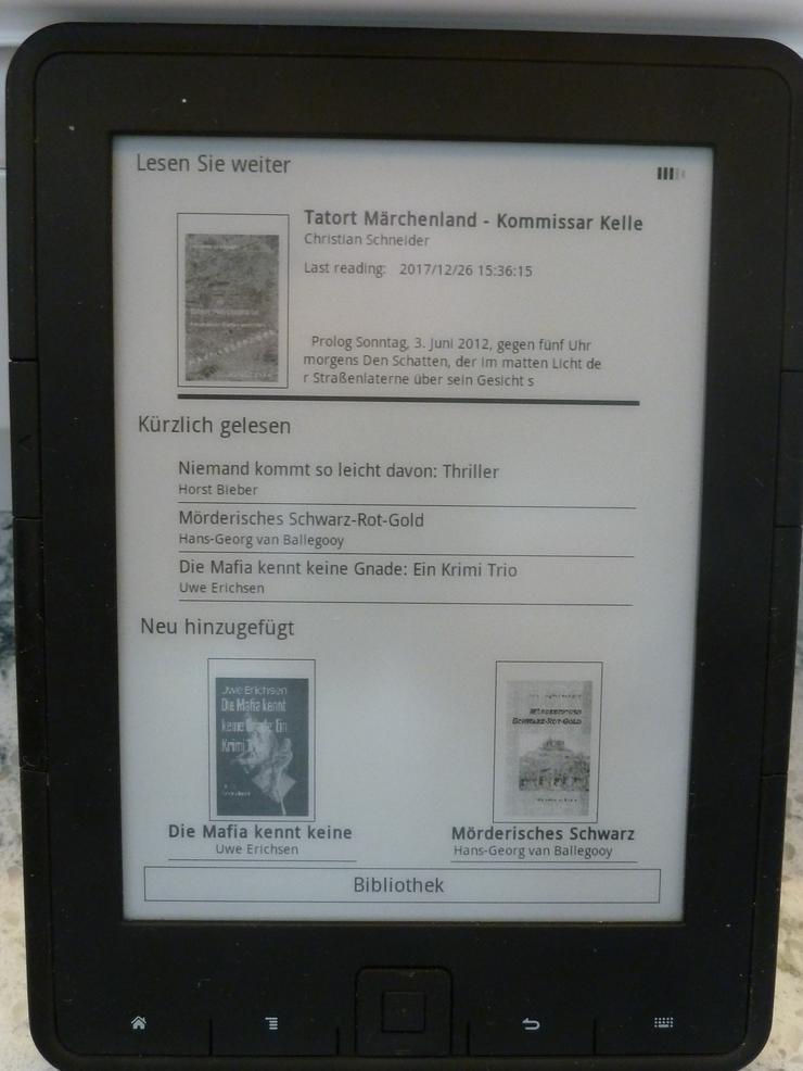 eBook-Reader - Romane, Biografien, Sagen usw. - Bild 1