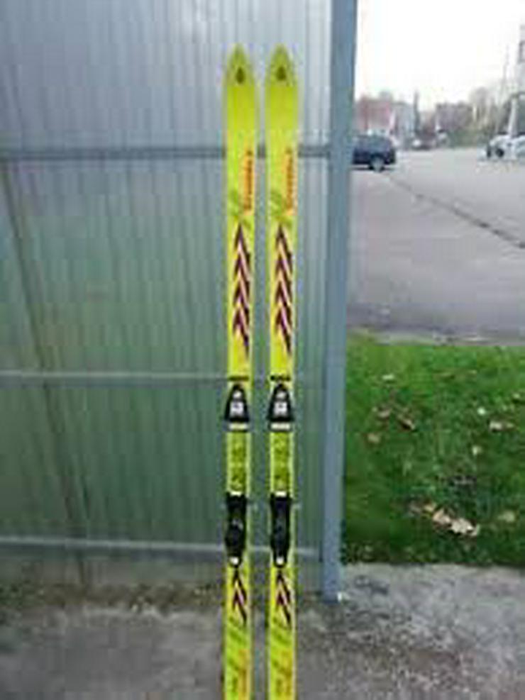 Biete Skiausrüstung, Damen-Skisachen, Skijacke, Skischuhe und Ski und Skistöcke - Ski & Skistöcke - Bild 1
