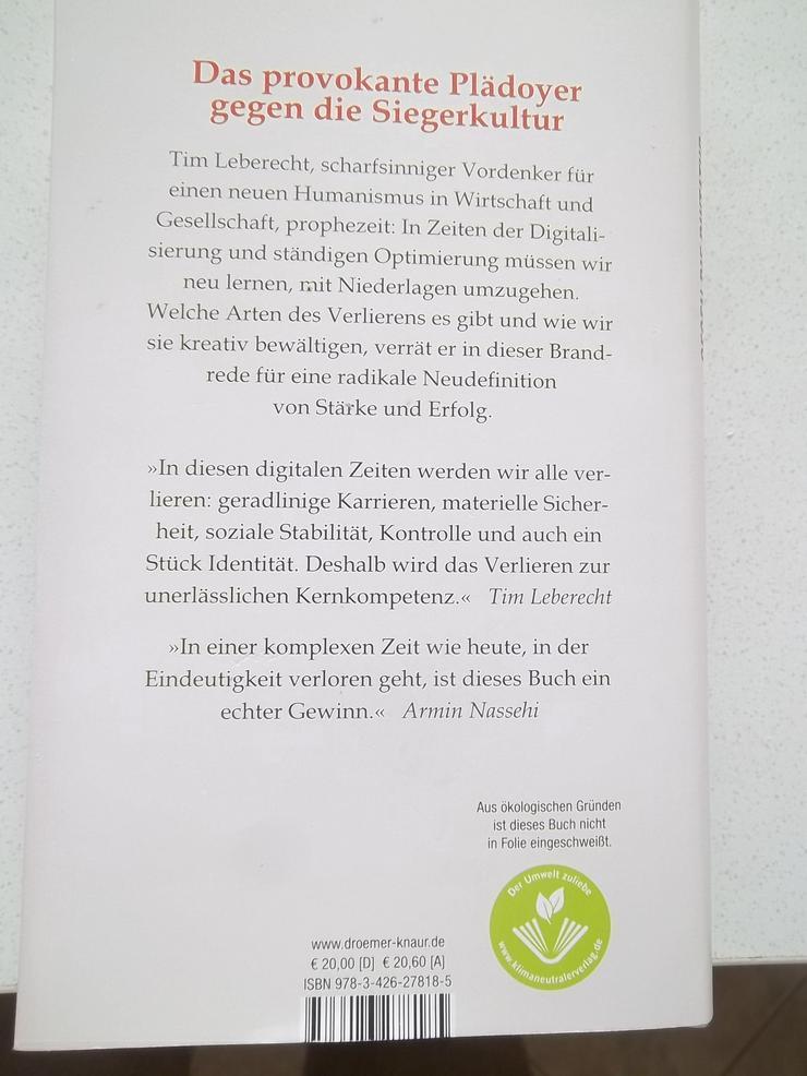 """Bild 2: """"Gegen die Diktatur der Gewinner"""" von Tim Leberecht"""