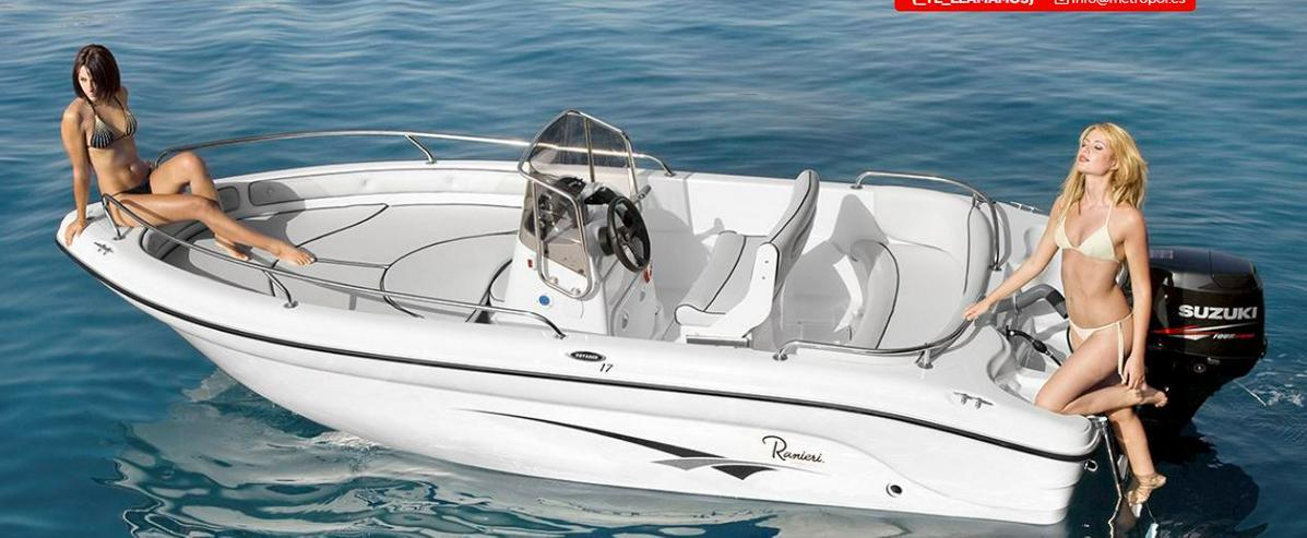 2021er RANIERI Konsolenboot Trailer 50PS Honda ALLES WERKSNEU bundesweite Lieferung Möglich