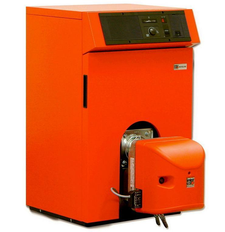 1A Ratioline BW Ölbrennwert Kessel 12 - 25 kW Intercal Heizung. EEK: A - Ölheizung - Bild 1