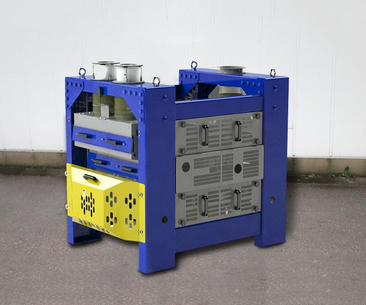 Getreidereiniger / Siebseparator BISS 25 t/h für Getreidereinigung
