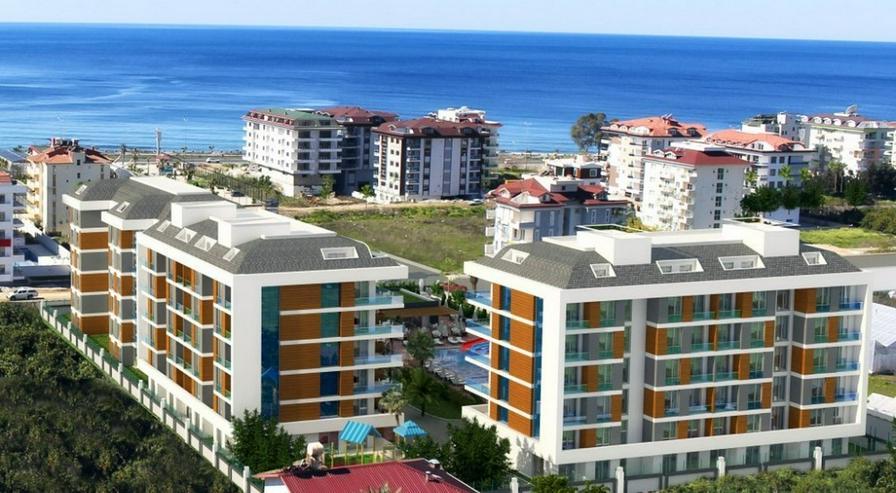 Türkei, Alanya, Neubau, 2 Zi. Wohng,200 m zum Strand. 392  - Ferienwohnung Türkei - Bild 1