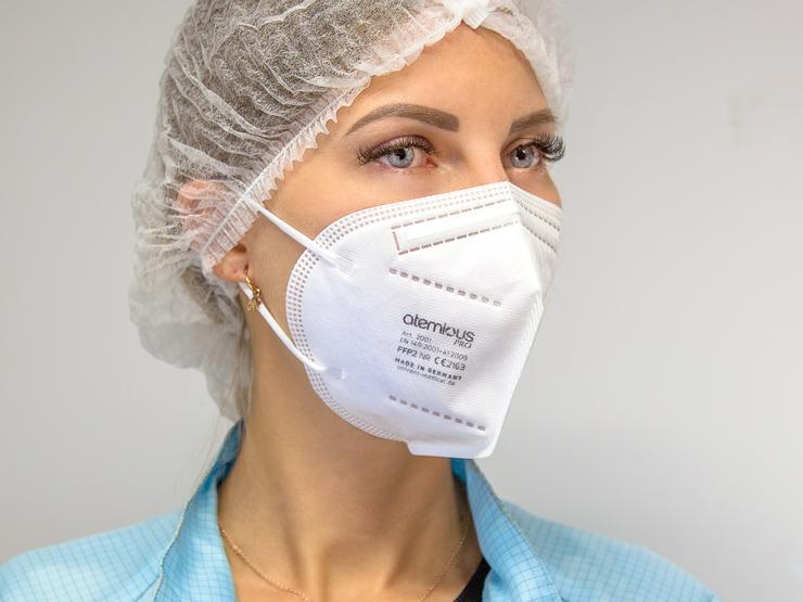 Bild 3: atemious FFP2 Maske deutsche Herstellung aus dem Schwarzwald