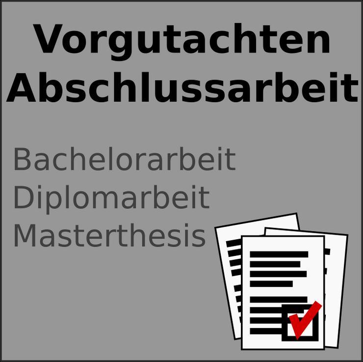 Feedback zur Abschlussarbeit (Bachelor, Master)