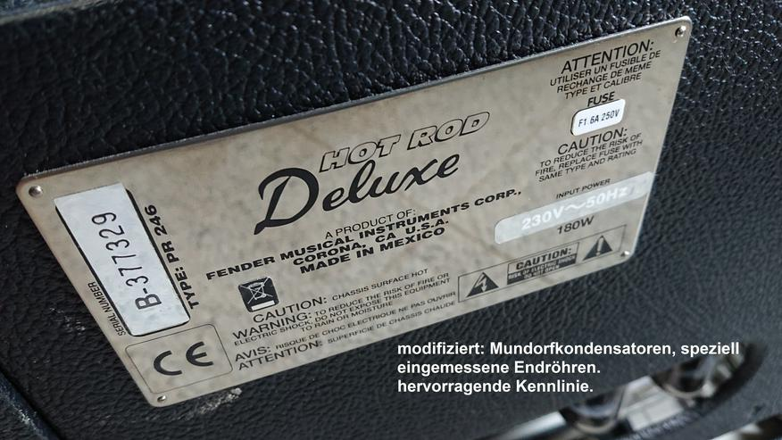 Fender Hot Rod Deluxe  original - Röhrenverstärker! Neuwertig - Verstärker & Effekterzeugung - Bild 1