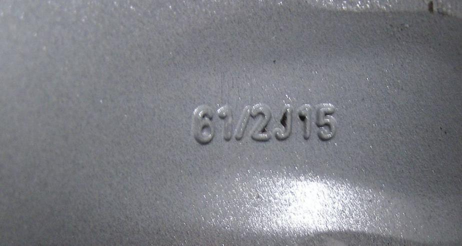 Bild 2: Alufelge 15'' Typ Ouragan für Peugeot 206 - 15 Zoll