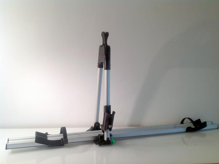 Abschließbare THULE Fahrrad-Dachgepäckträgerkombination