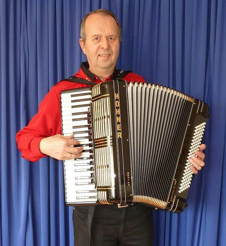 Akkordeonspieler Kalle in Coesfeld, Rheine, Xanten, Gronau, Viersen