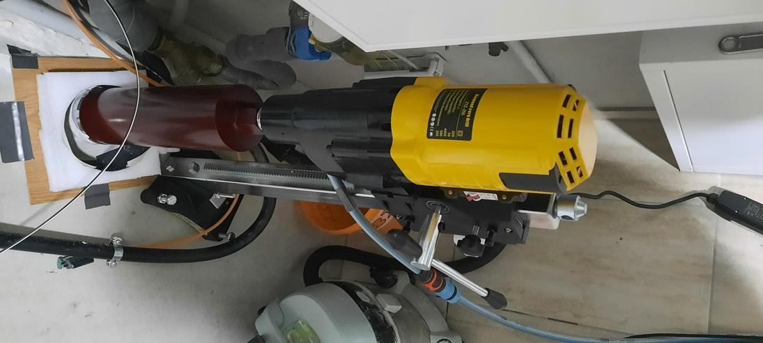 Bild 2: Kernbohrgerät bis 255mm zur Vermietung