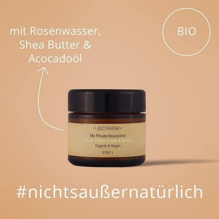 My Private Beautyline - Base Creme Face & Body 30 ml organic & vegan. Misch Dir Deine Kosmetik nach Deinem Hauttyp selbst.