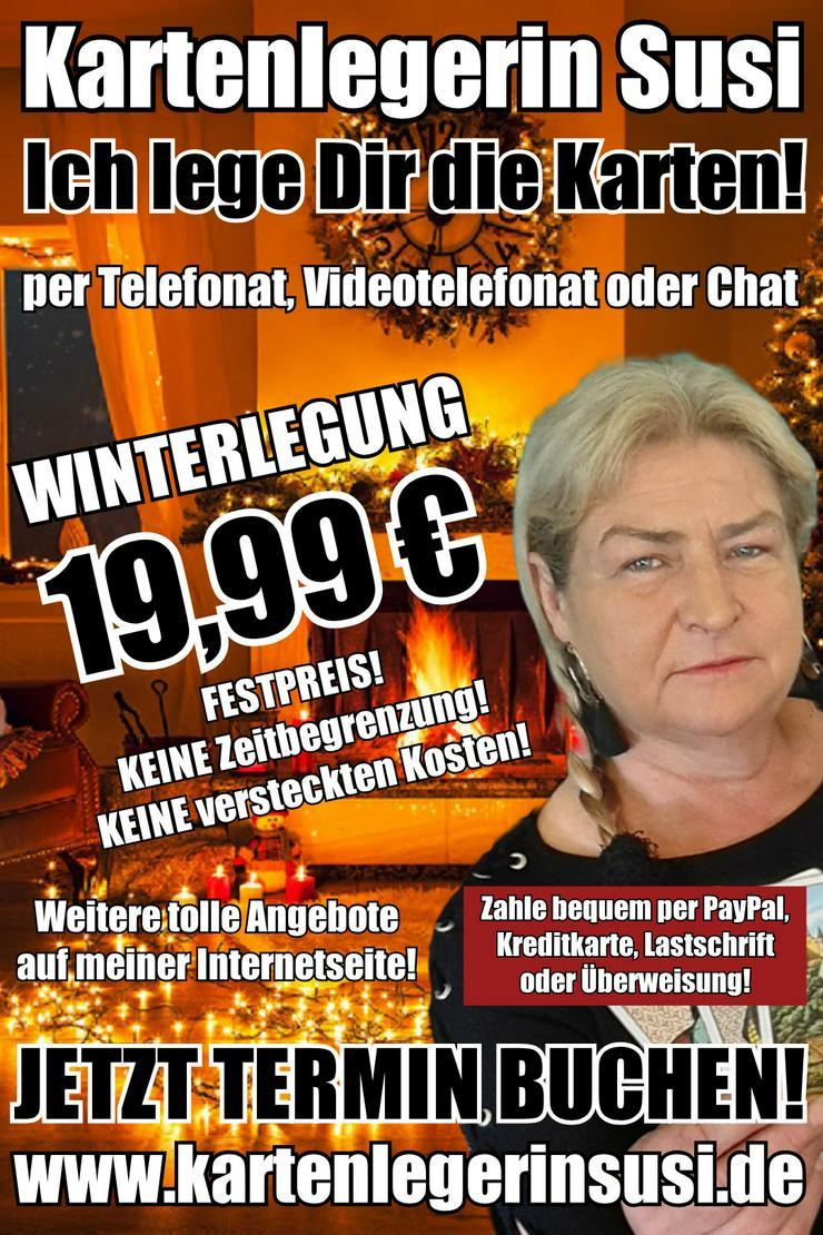 Kartenlegen Wahrsagen Hellseher Hellsehen Kartenleger Esoterik - Lebenshilfe - Bild 1