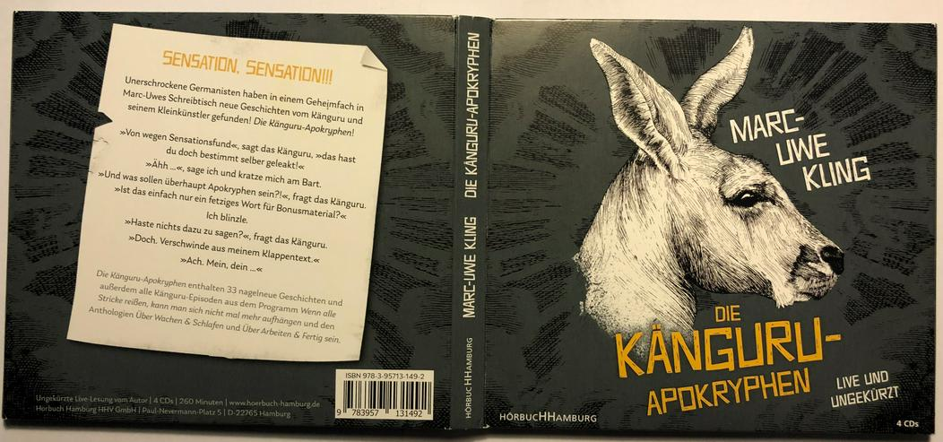 Marc-Uwe Kling - Die Känguru-Apokryphen - Hörbücher - Bild 1