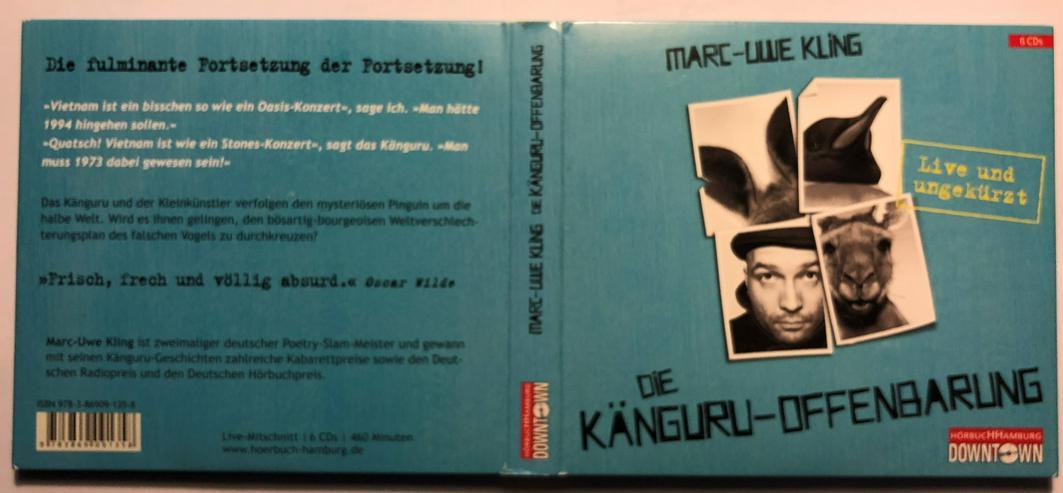 Marc-Uwe Kling - Die Känguru-Offenbarung - Hörbücher - Bild 1