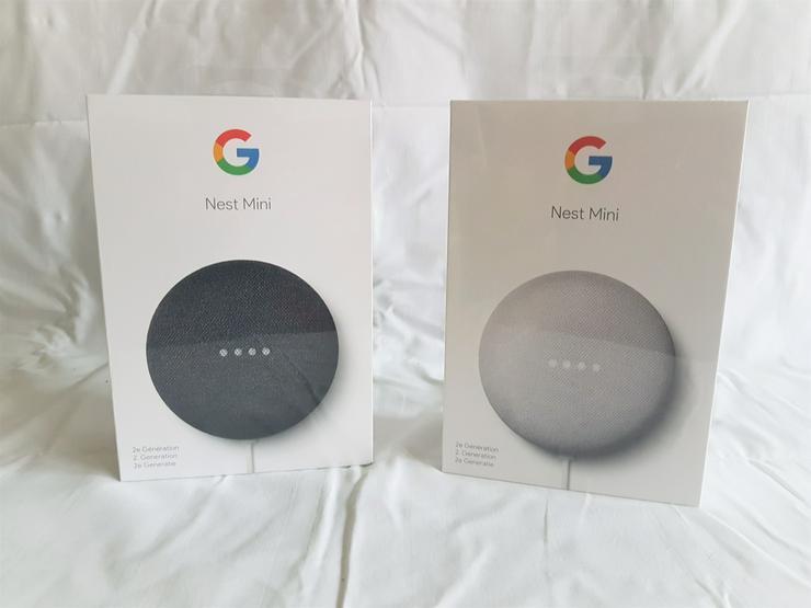 Google Nest Mini 2 Stück - die kleinen Helfer für Zuhause