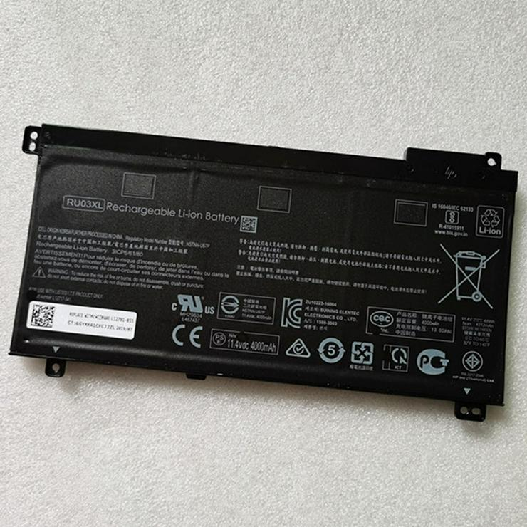 Akku für HP ProBook x360 440 G1 ProBook x360 11 G3, 48Wh/4000mAh 11.4V RU03XL Batterien